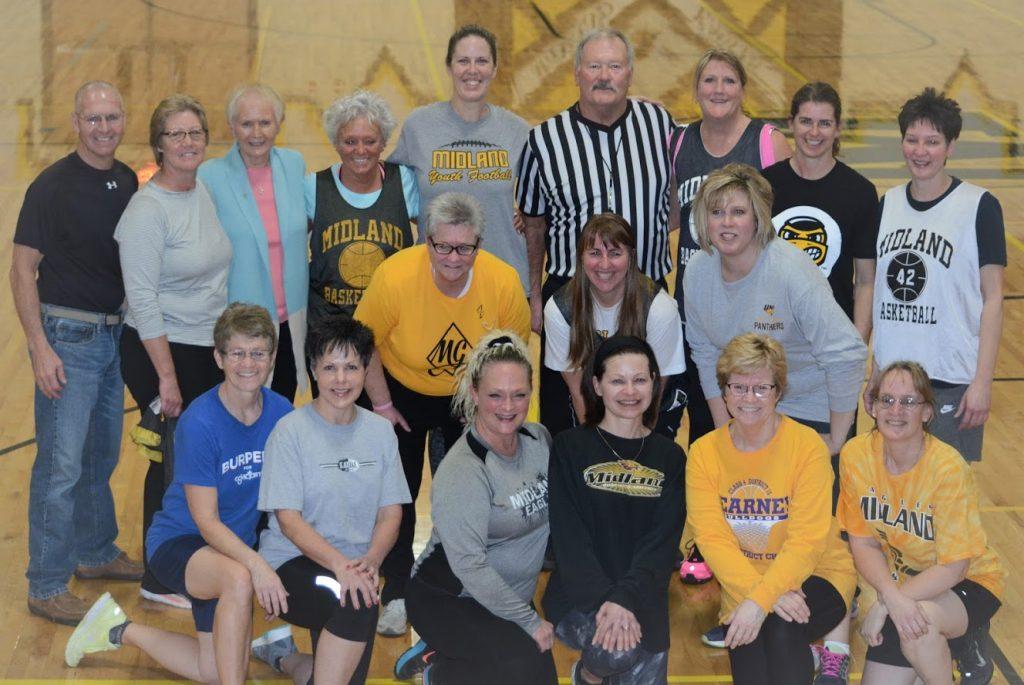 Midland 6-on-6 basketball gals