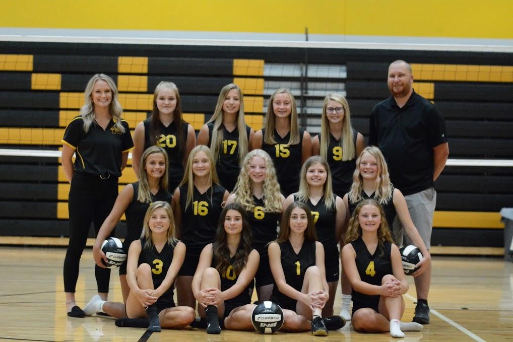 Midland JV Volleyball 2020